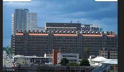 Harare Zimbabwe Apartment Complex Designed To Air Condition Like