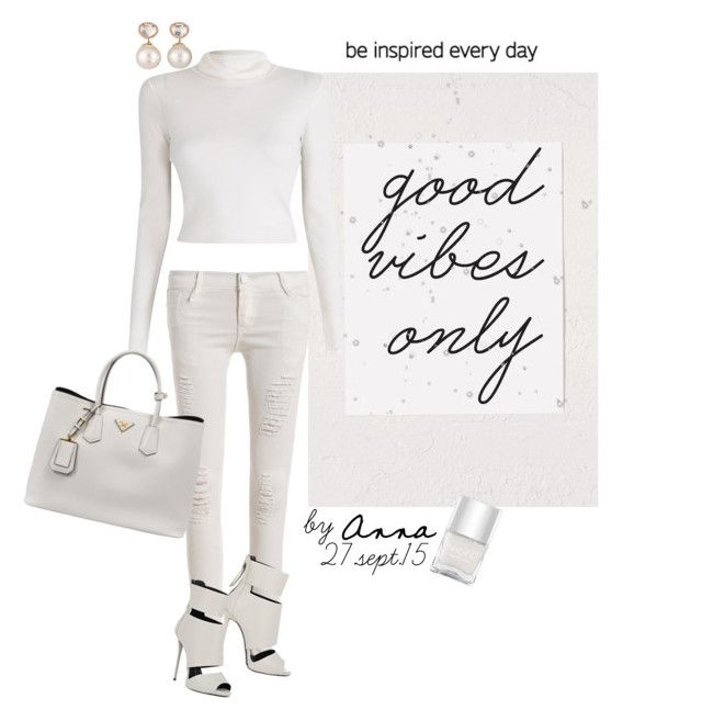 """""""SET #2039.""""Good Vibes Only"""""""" by annasousa-1 ❤ liked on Polyvore featuring Samira 13, A.L.C., Prada, Giuseppe Zanotti, LOVA, Nails Inc., notemplate, fashionset, goodvibesonly and polyvoreforandroid"""