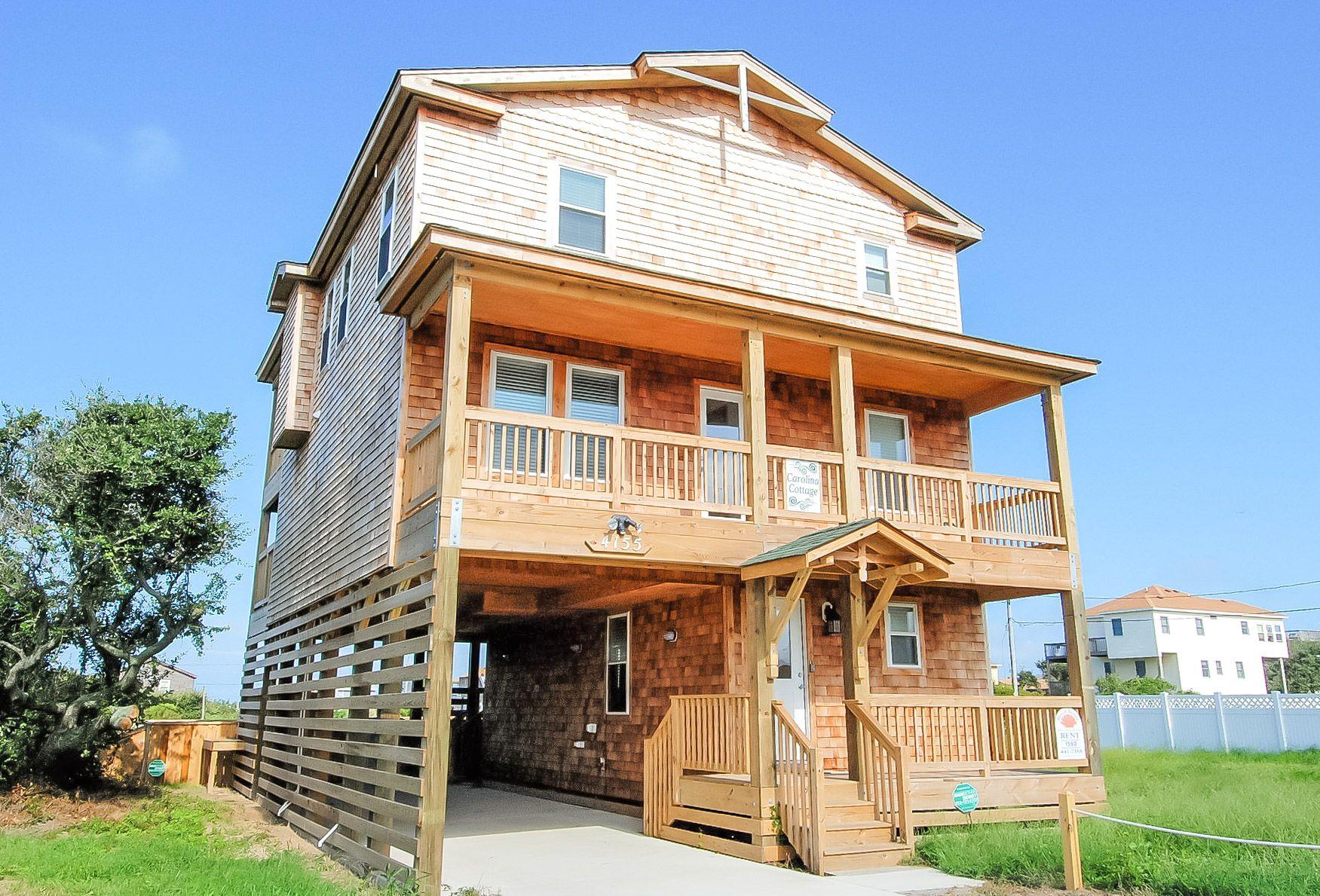 Carolina Cottage   Banks house, Cottage, Outer banks rentals