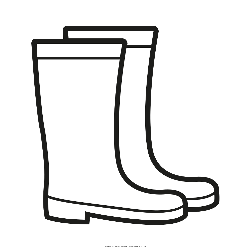 Rain Boots Coloring Page Umbrella Craft Coloring Pages Winter Crafts For Kids