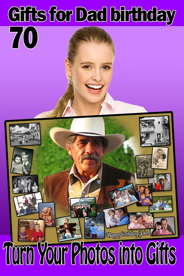 Photo Gift Ideas For Your Dad Turning 70 Photo Gifts