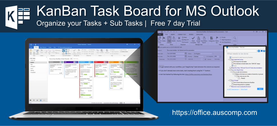 MS Outlook users who want to have sub-tasks to help with the