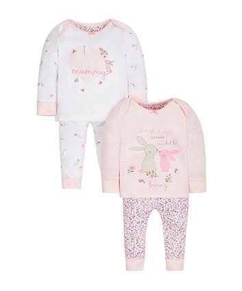 763f26fe4f78 Mummy and Daddy Pyjamas - 2 Pack