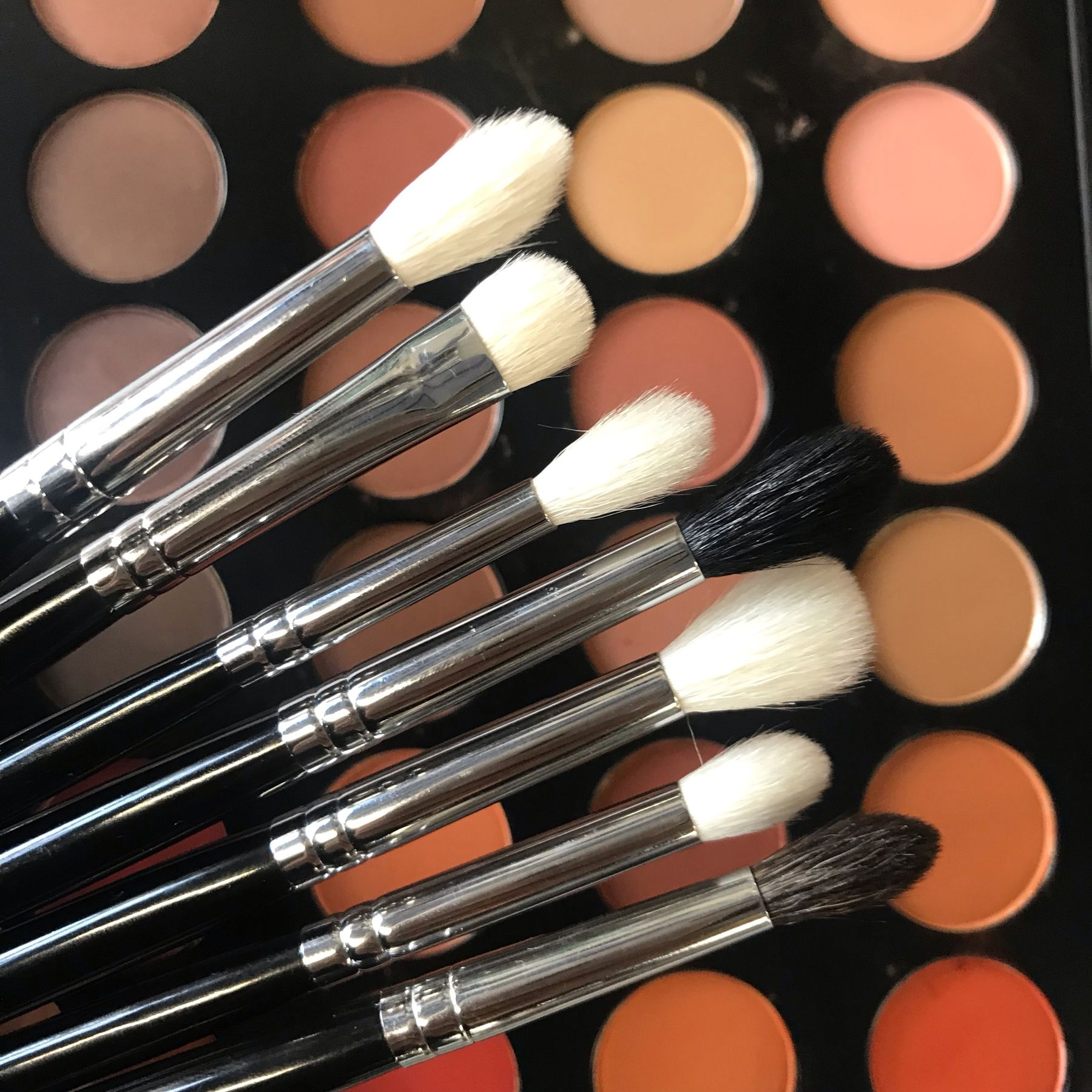 We love our ilo Cosmetics brushes! Available exclusively