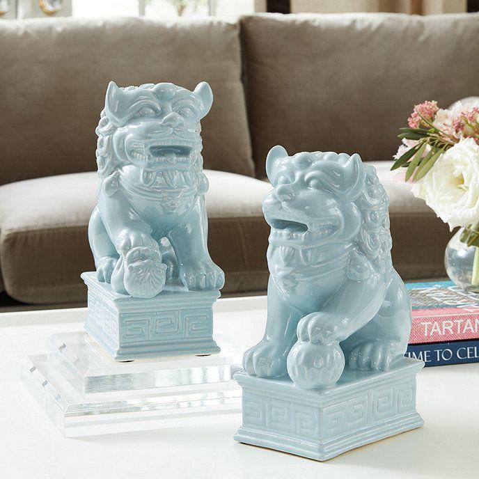 Foo Dogs Set Of 2 Decorative Accessories Pinterest Foo Dog