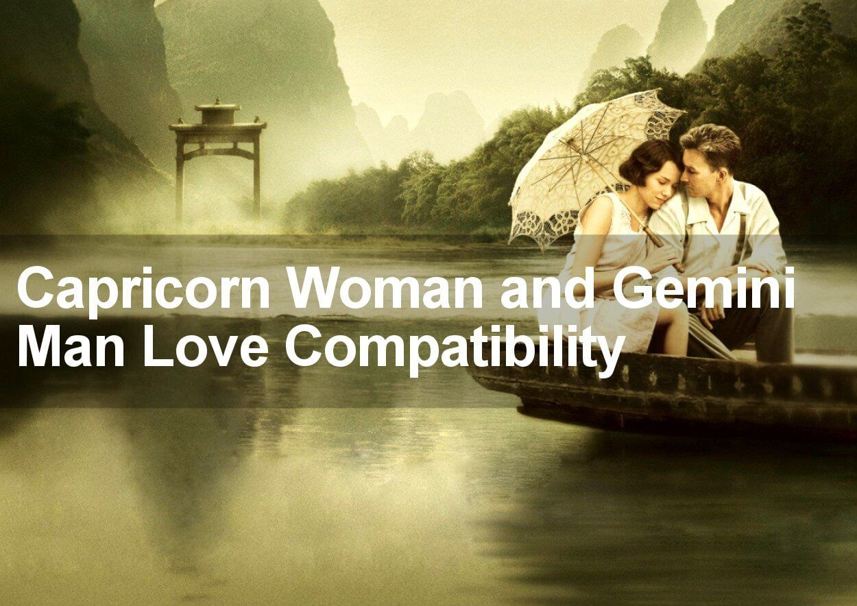 Gemini Capricorn Compatibility in Love and Marriage 2019