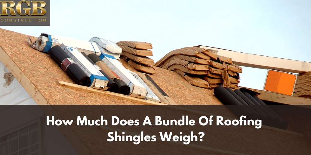 How Much Does A Bundle Of Roofing Shingles Weigh With Images Roof Shingles Roofing Shingling