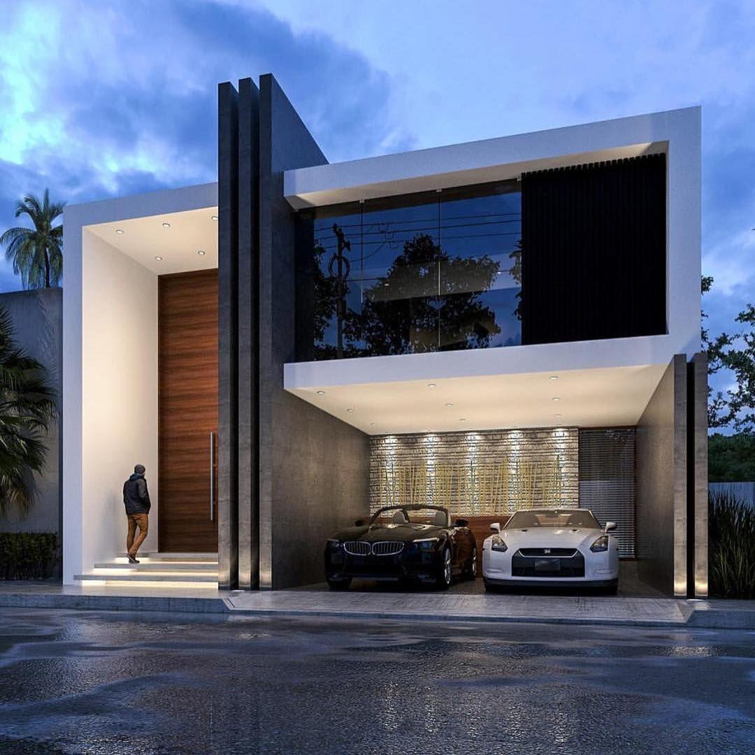 Pin de geovani gigio en arkdesign pinterest fachadas for Casas futuristas