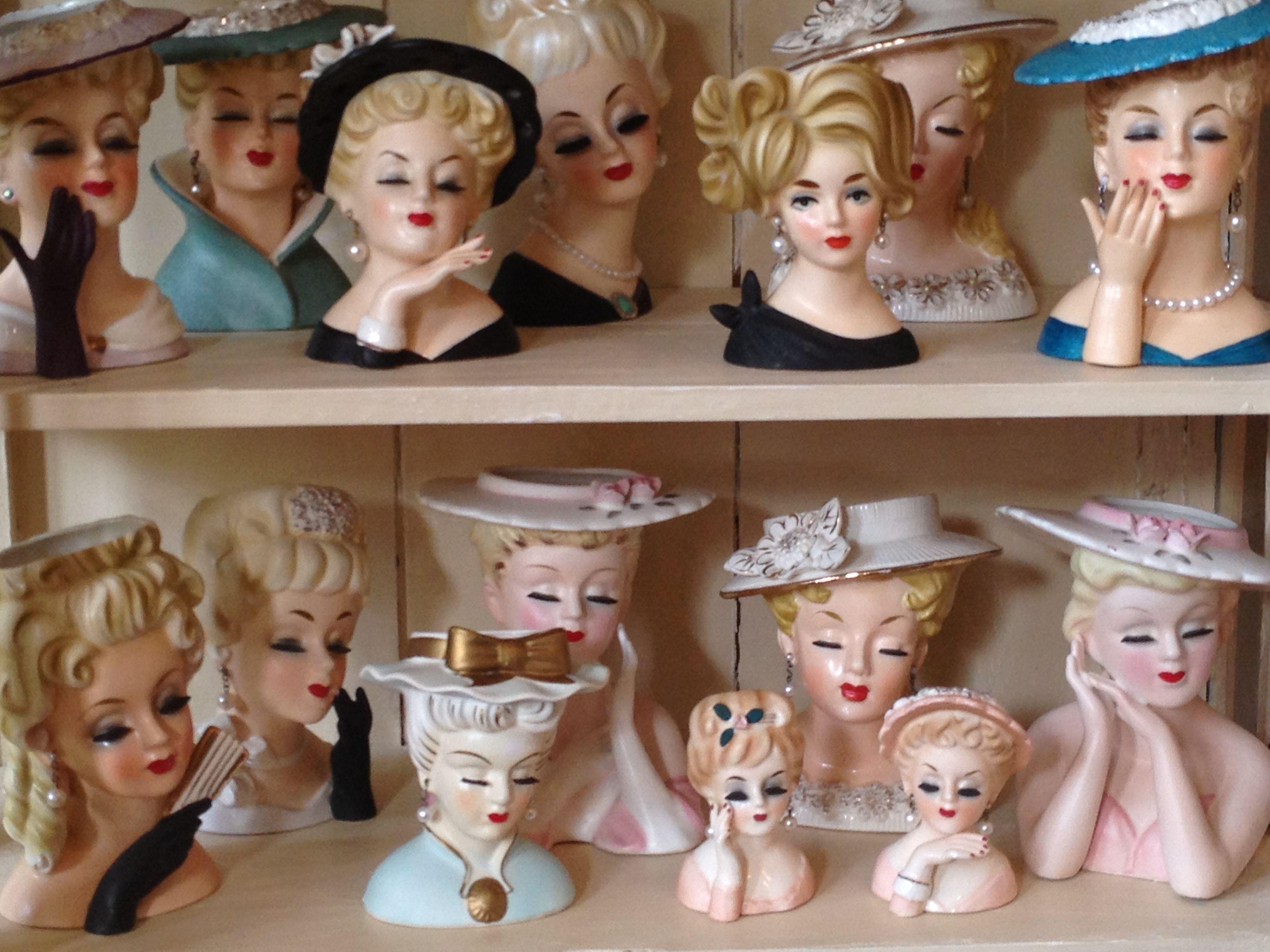 Vintage Headvases