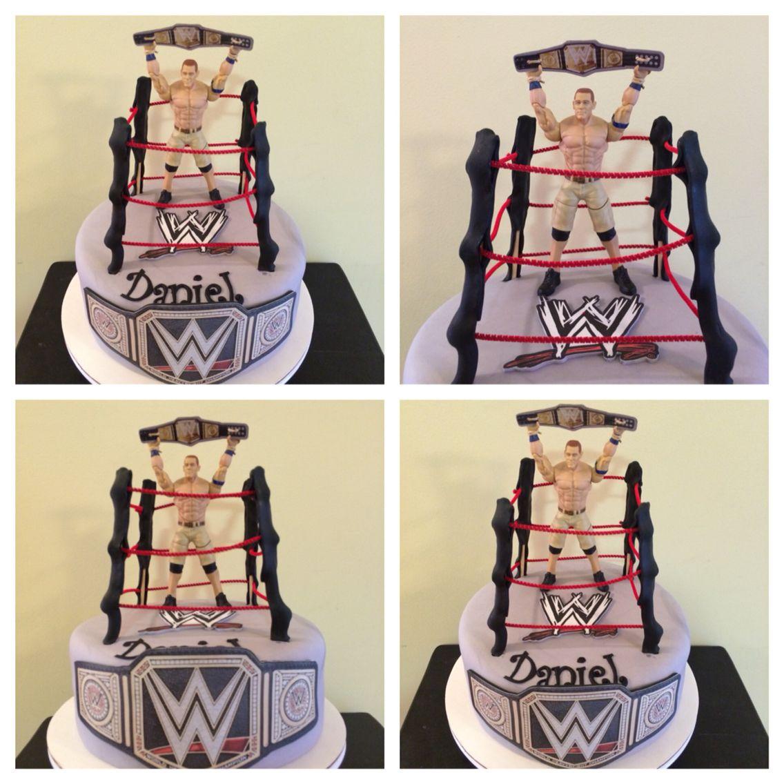 Wwe John Cena Cake