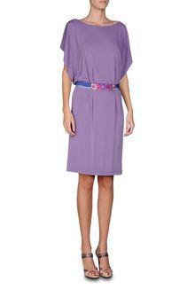 Delicate lavender dress by Alberta Ferretti.
