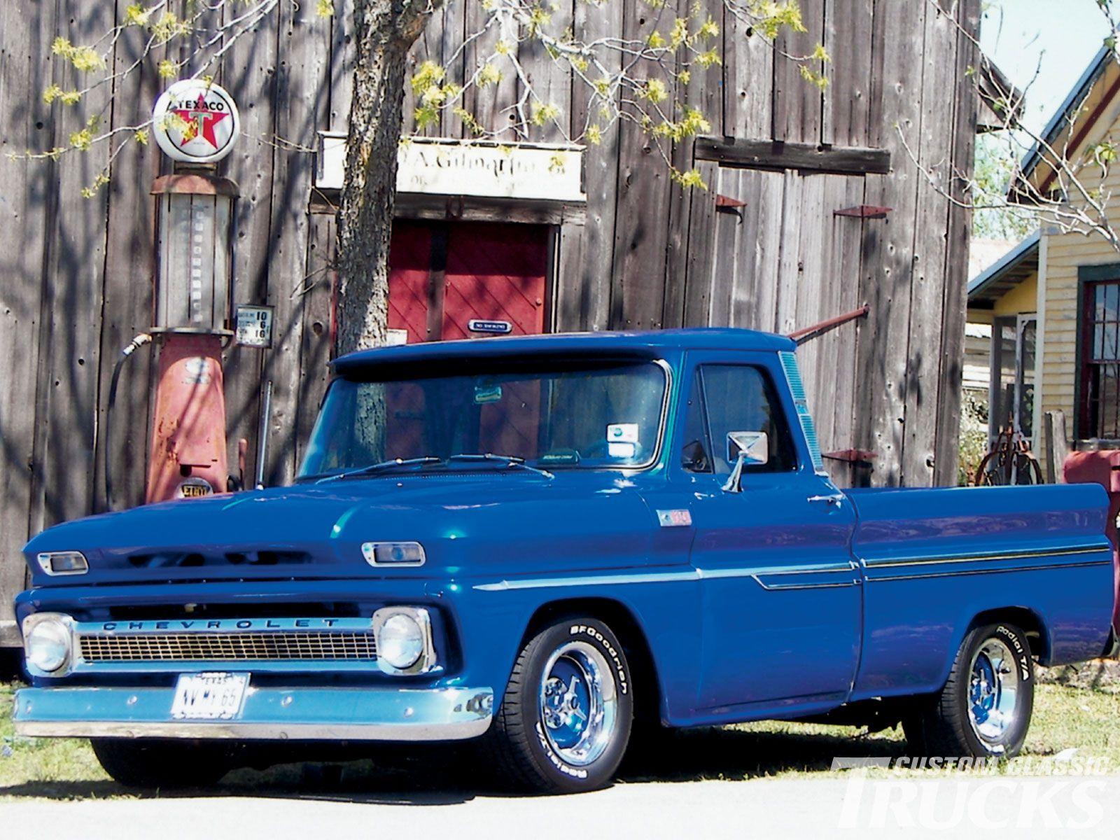 Old Chevy Trucks 1965 Chevy C10 Pickup Truck Restored