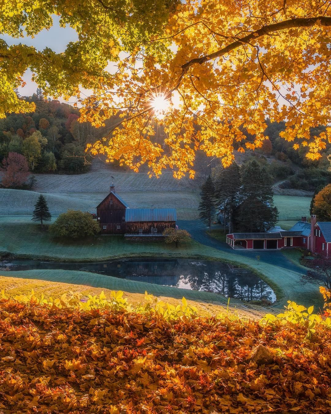 Vermont By Bruce Getty On Instagram With Images Woodstock