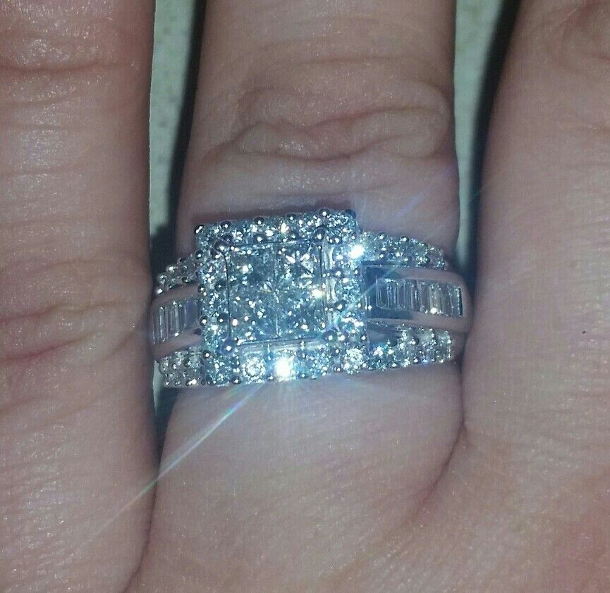 This is my ring. I said yes!
