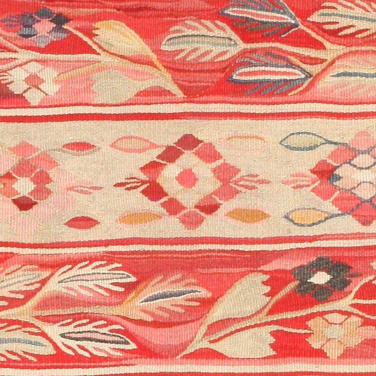 Romanian Bessarabian Flat Weave Rug