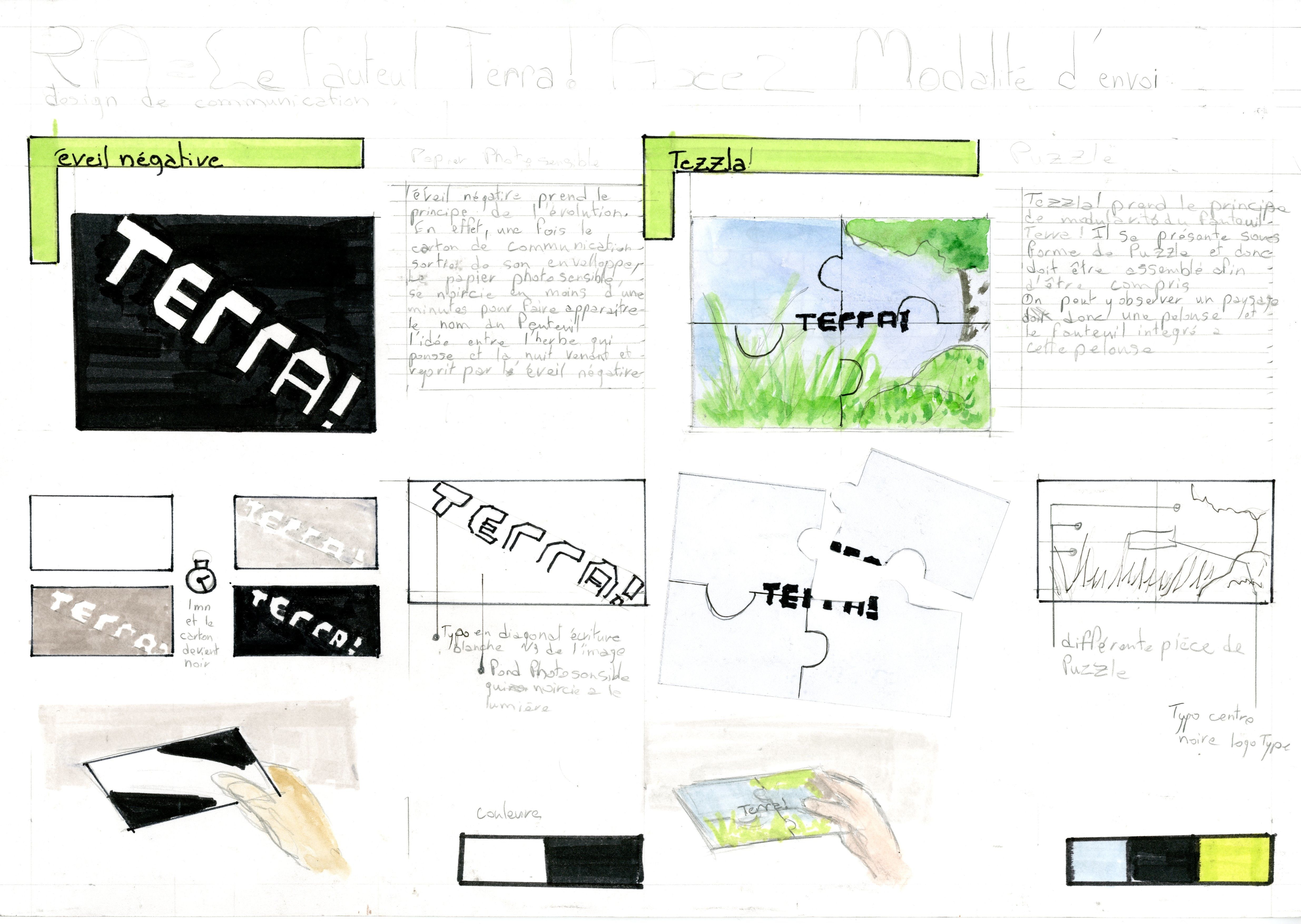Planche Recherche Appliqus Fauteuil Terra Et Carte De Visite 2 3 Fait LEBTP Vincennes