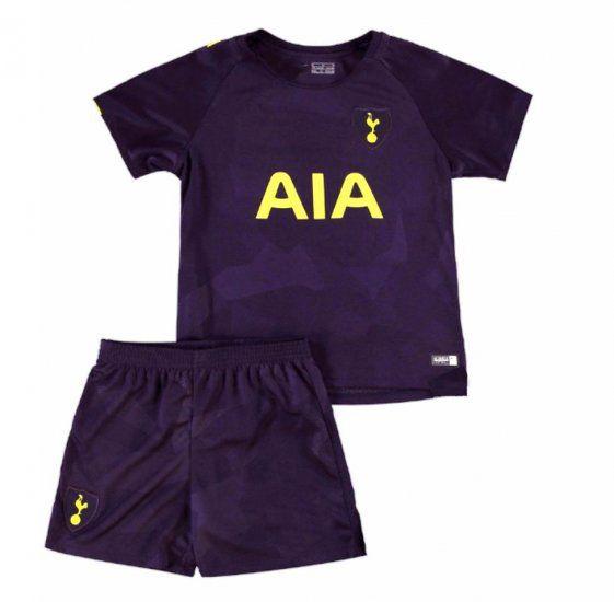 release date: 14619 f2e86 Kids Tottenham Hotspur 2017-18 Season Third Spurs Kit ...