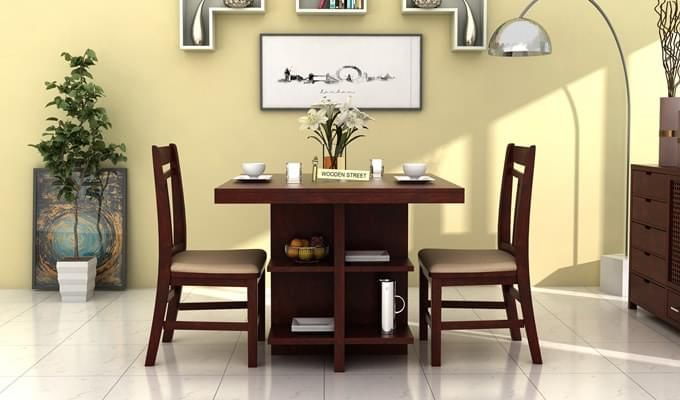 Pune Space Saving Dining Table 2 Seater Dining Table Dining