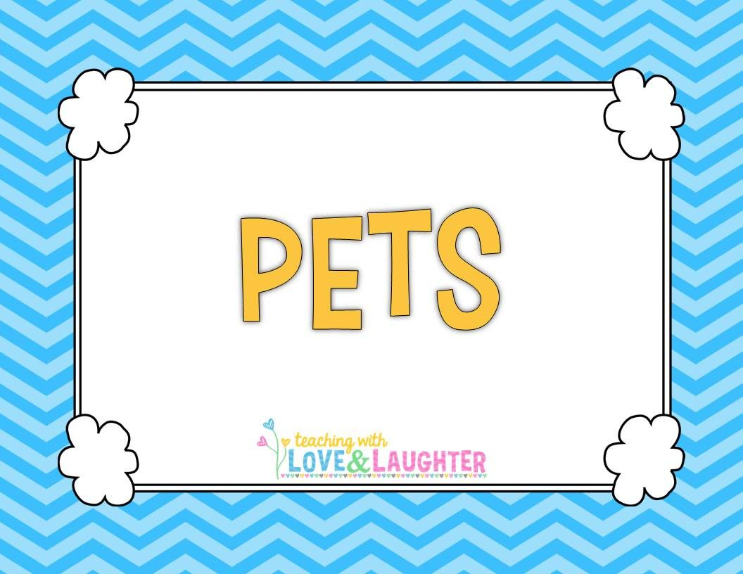 Pin By Teaching With Love Amp Laughter On Pets