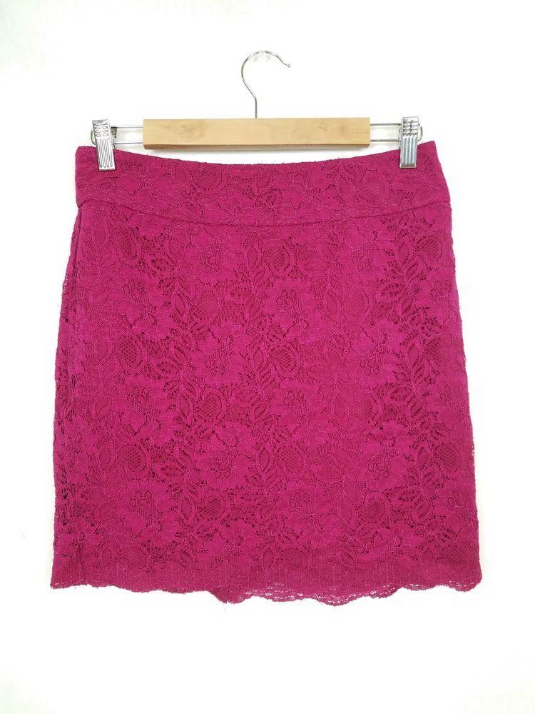 12bae1f4cf Banana Republic Petite Womens 6P Pencil Skirt Lace Dressy High Waist  Raspberry #fashion #clothing #shoes #accessories #womensclothing #skirts  (ebay link)