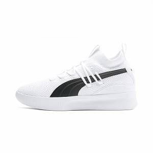 Clyde Court Basketball Shoes | Puma White | PUMA Shoes | PUMA United Kingdom