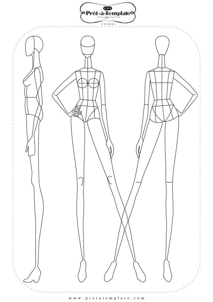 Pin de Sulami Kodir en Sketches fashion | Pinterest | Figurin