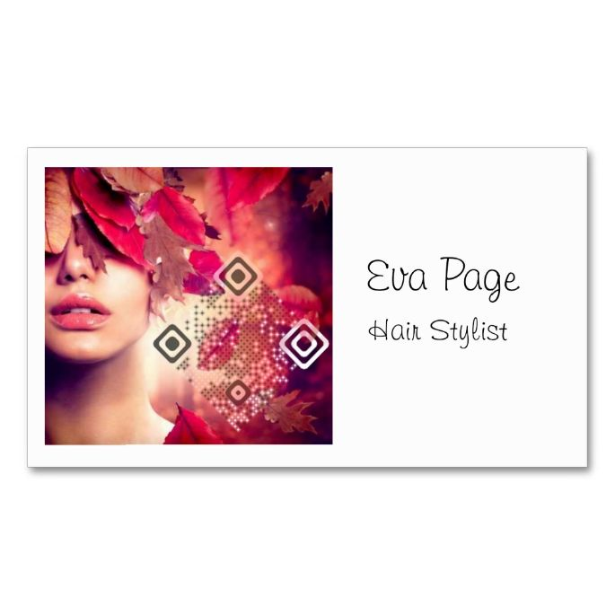 Pin On Qr Code Business Card Templates