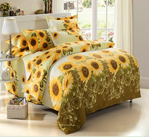 Sunflower Bedding Webnuggetz Com Bedding Sets Yellow Bedding Sunflower Room