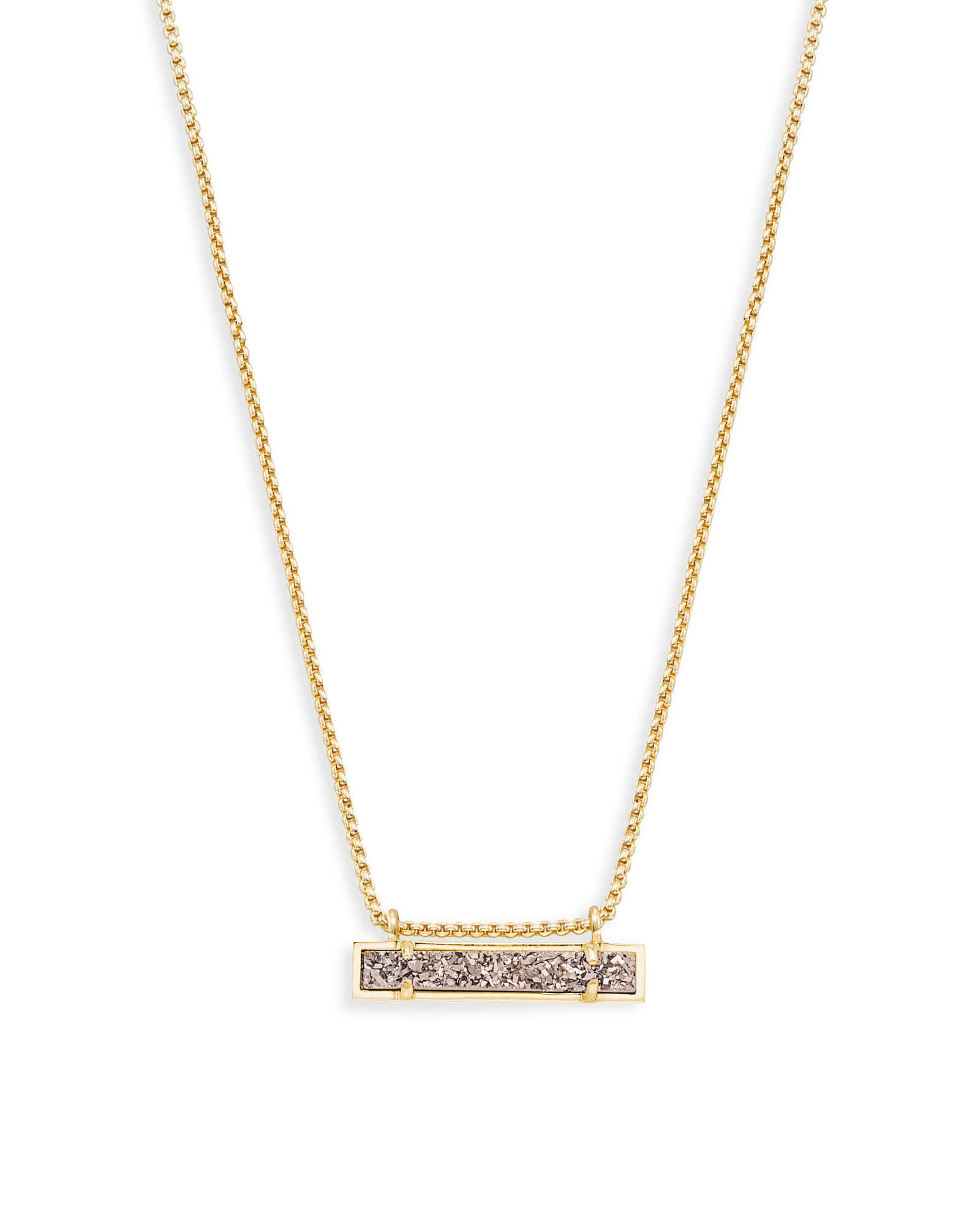 Shop gold bar pendant necklace at kendra scott with a dainty