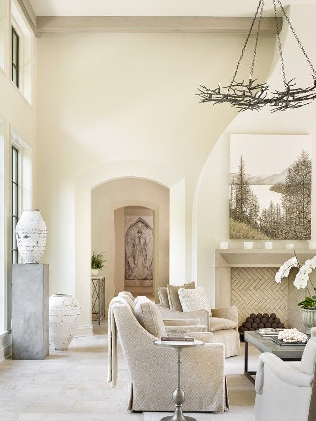 Marino Residence Birmingham Alabama Dungan Nequette Architects White Living Room Interior Design Home