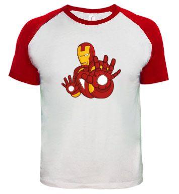 cb07ea9b6 Camiseta Iron Man