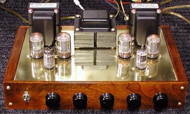 Diy 6t9 Push Pull Tube Amplifier Project Valve Amplifier Amplifier Diy Electronics