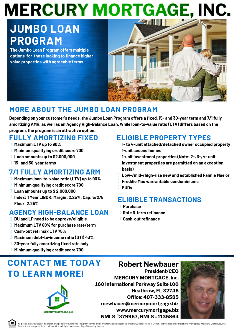 Jumbo Loan Call Message Or Email Me With Any Loan Scenarios Credit Issues Etc Floridahomes Floridareal South Florida Real Estate Jumbo Loans Mortgage