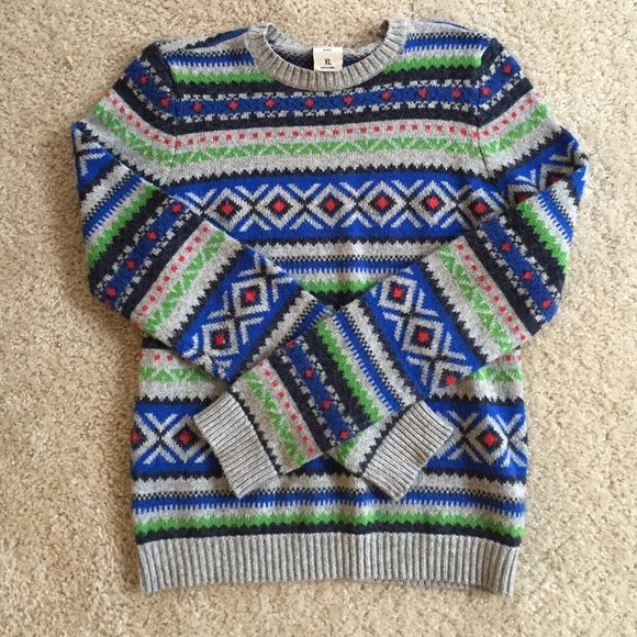 Christmas Fair Isle Sweater | Abercrombie kids, Fair isles and ...