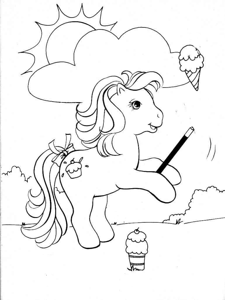 Ausmalbilder Gratis Colouring Pages For Kids My Little Pony