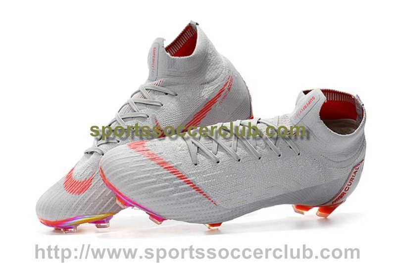 b86b06f1a74fe Order Nike Mercurial Superfly VI 360 Elite FG Soccer Cleats - Grey ...