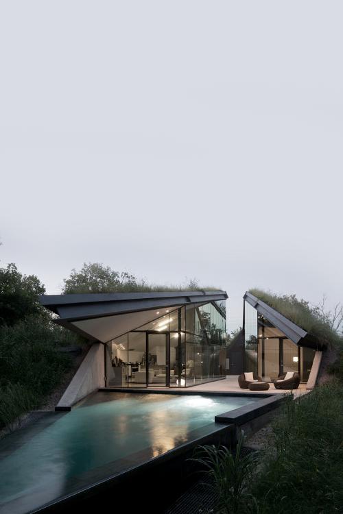 312 besten modern pool and home bilder auf pinterest architekturdesign architekten und architektur - Hinterhoflandschaftsideen