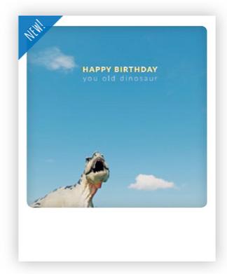 Happy Birthday You Old Dinosaur Geburtstagspostkarte Happy Birthday Kinderladen Postkarten