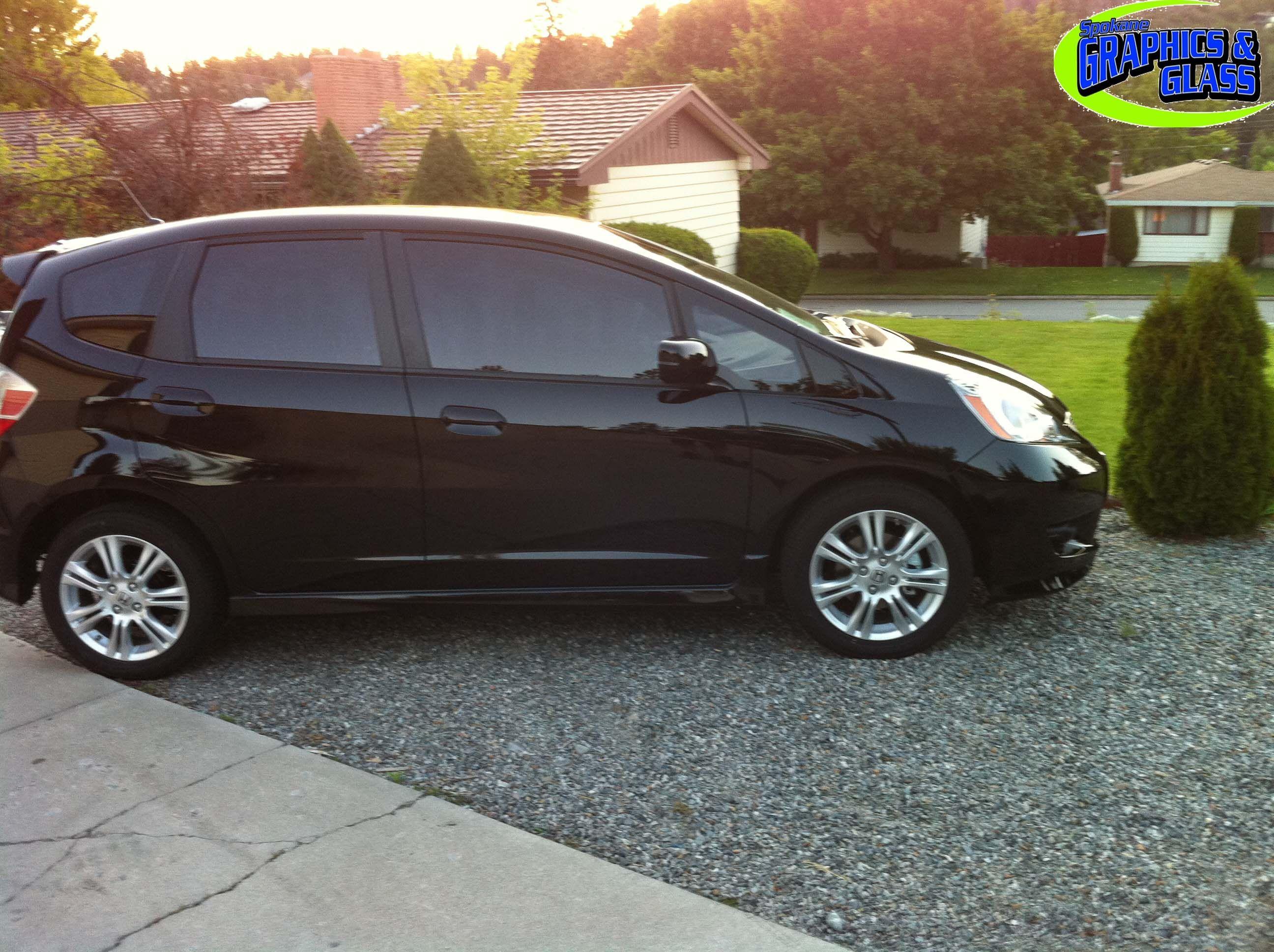 2011 honda fit window for Honda window tinting