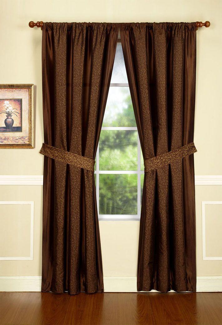 single panel curtain ideas
