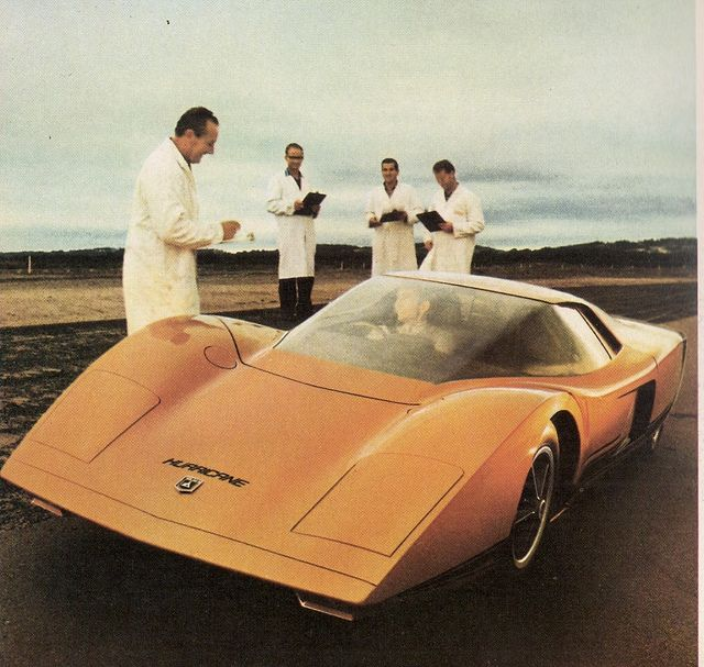 Sportwagen New Stratos Basis: Holden Hurricane 1969