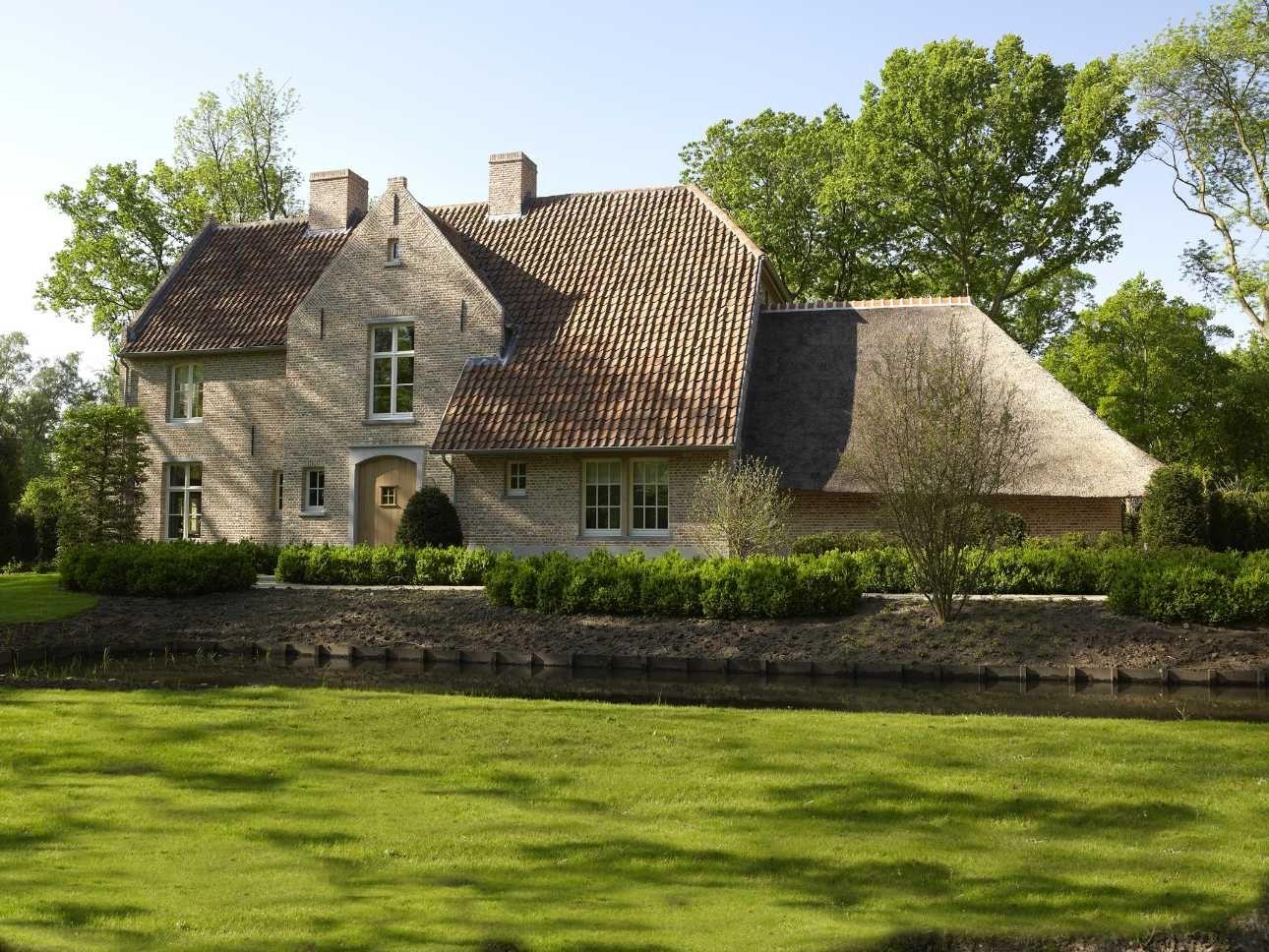 Landelijke woning arch belgian design pinterest for Landelijk bouwen architect