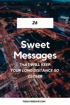 Sweet dating messages