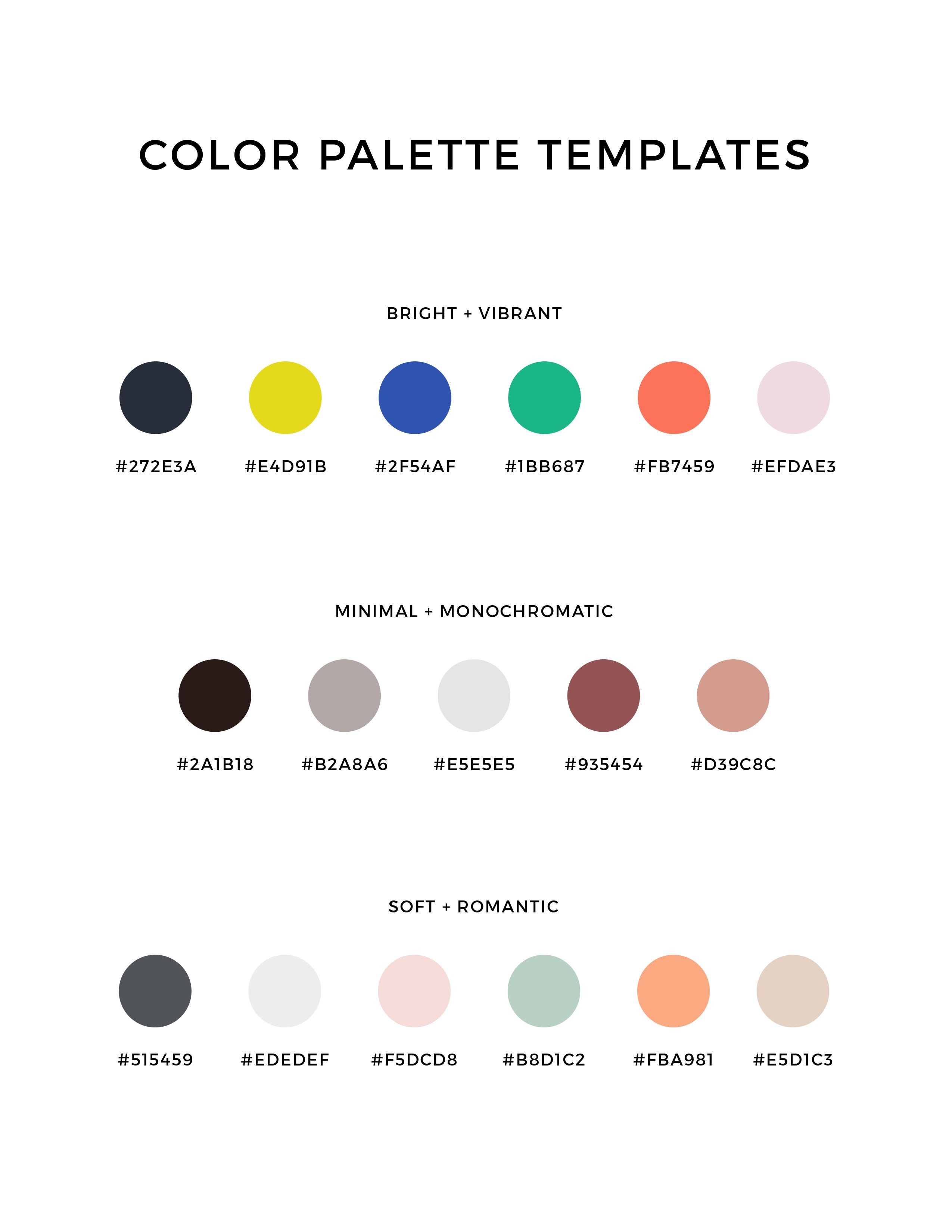 How To Choose The Right Color Palette For Your Business Color Palette Brand Colors Inspiration Brand Colors