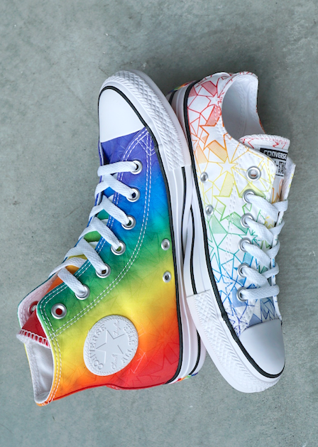 Converse's 2019 Pride Collection Brings Plenty of Colour