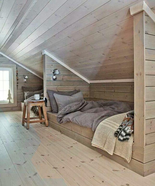 Loft Bedroomdesign: 42 Cozy Loft Bedroom Design Ideas For Small Space Godiygo