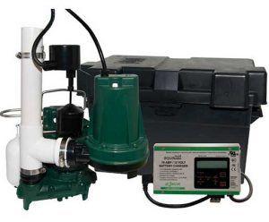 Zoeller Aquanot 508 0007 12 Volt Backup Sump Pump With M98 Pump Backup Sump Pump Sump Pump Sump