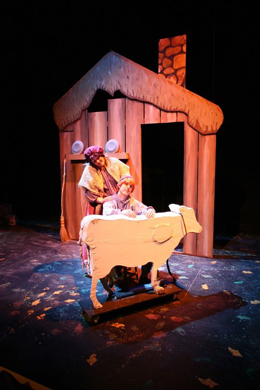 scenic design into the woods - Google Search