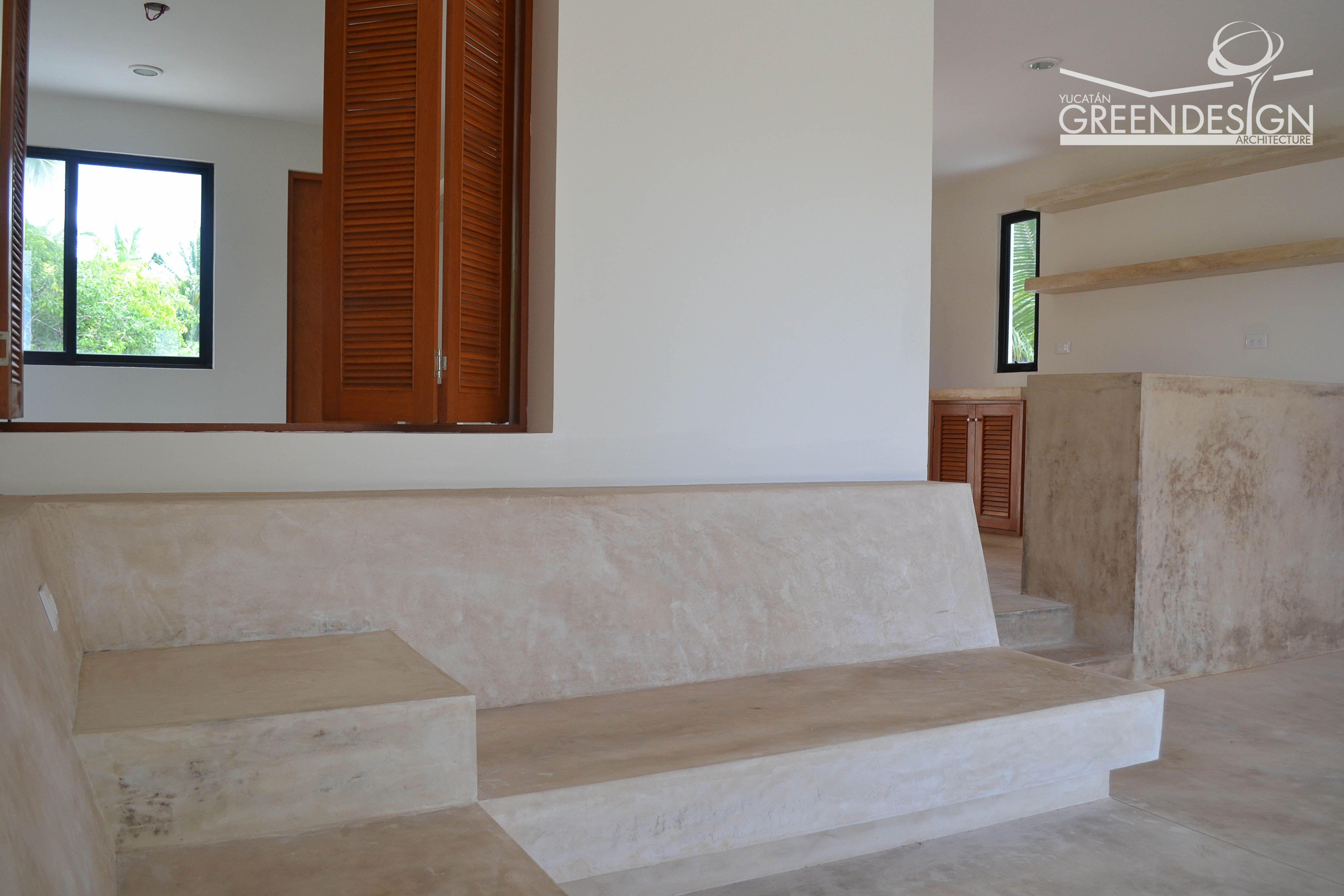 Se plantean interiores crudos tanto en pisos mobiliario - Interiores de banos ...