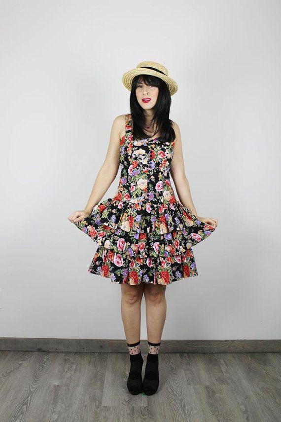 fd23b33a75 Vintage 80s dress